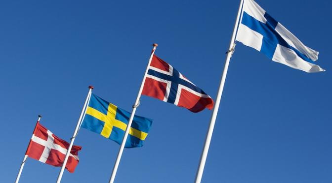 Eine Lernstunde: Was ist Skandinavien?