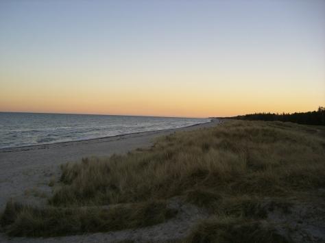 Sonnenuntergang-Marielyst