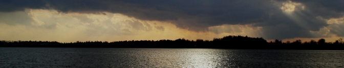 Am Roskilde Fjord Steinchen werfen