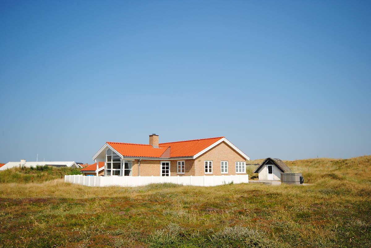Urlaub an der Westküste in Dänemark Luxusferienhaus in Årgab   21 ...