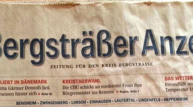 """Interview im """"BA"""", der Tageszeitung meiner """"alten"""" Heimat"""
